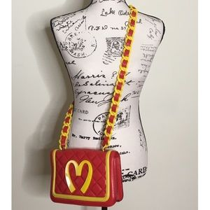 8a456037b8 Moschino. LimitedEdition MOSCHINOxJeremyScott McDonalds Bag